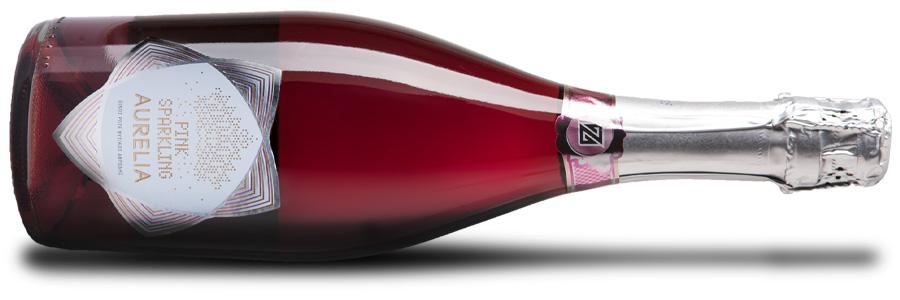 Aurelia Pink Sparkling | Οίνος Ροζέ Αφρώδης Ημίξηρος | Zoinos Winery