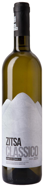 Ζίτσα Classico 750ml | Οίνος λευκός ξηρός | Zoinos Winery