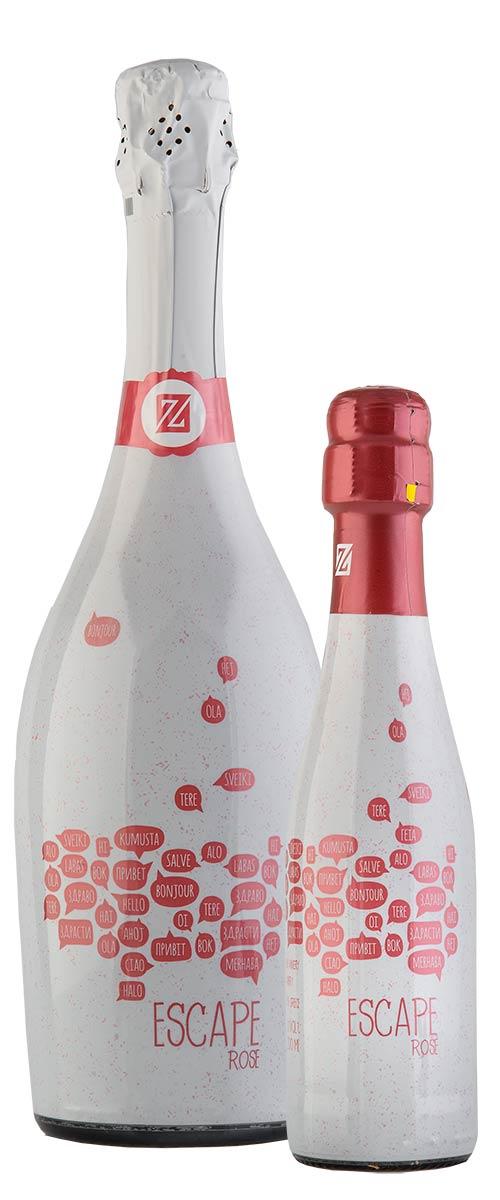 Escape | Οίνος ροζέ αφρώδης μπουκάλι | Zoinos Winery