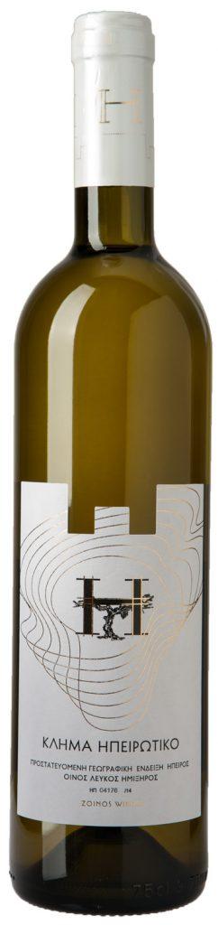 Κλήμα Ηπειρωτικό 750ml | Οίνος λευκός ημίξηρος | Zoinos Winery