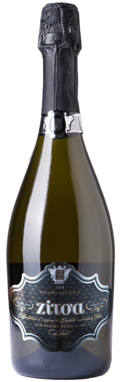Ζίτσα ημιαφρώδης | Οίνος Λευκός Ξηρός Ημιαφρώδης | Zoinos Winery